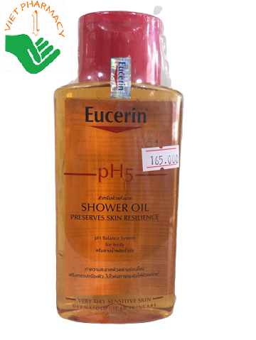 Dầu tắm Eucerin pH5 Shower Oil